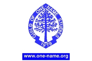 Guild of One Name Studies logo